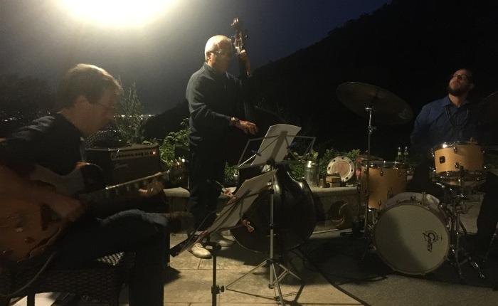 DALLA PICCIONAIA: Enrico Breanza Trio, J.J.C. 30 agosto2016