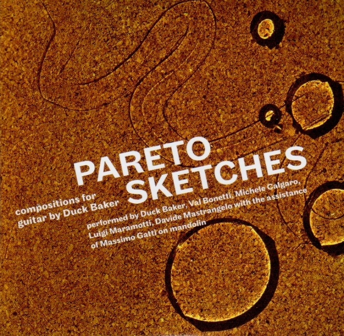 """AA.VV.""""PARETO SKETCHES: COMPOSITIONS FOR GUITAR BY DUCKBAKER"""""""